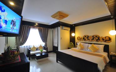 暹粒酒店公寓住宿:暹粒娘家精品酒店豪华大床或双床房