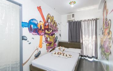 马尼拉酒店公寓住宿:马尼拉本地风情旅馆大床房