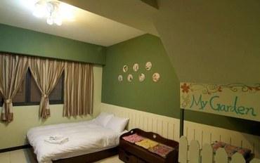 台中酒店公寓住宿:台中小牛先生宾馆双人大床房