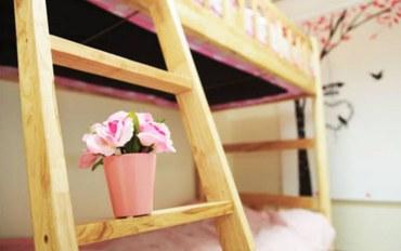 韩国酒店公寓住宿:IN民宿麻浦区厅店双床房