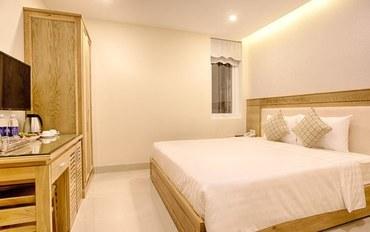 岘港酒店公寓住宿:岘港海城堡酒店标准大床房
