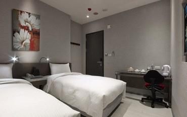 台北酒店公寓住宿:行天宫栈双人双床房