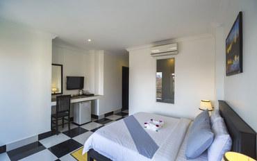 暹粒酒店公寓住宿:里希里吴哥酒店高级大床房