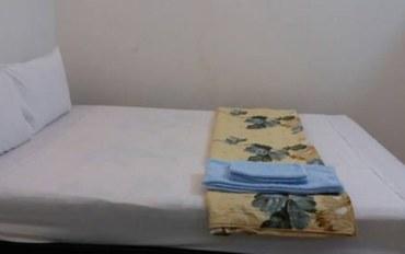 岘港酒店公寓住宿:蓝河汽车旅馆标准大床房