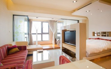 台中酒店公寓住宿:台中6号公寓套房