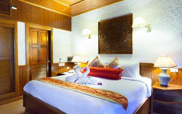 普吉岛酒店公寓住宿:普吉岛热带小屋酒店标准大床房##