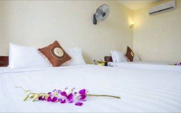 岘港酒店公寓住宿:岘港哈瓦酒店豪华三人房