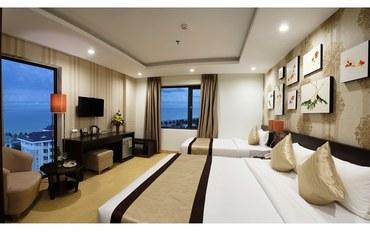 岘港酒店公寓住宿:岘港拜春酒店海景高级套房