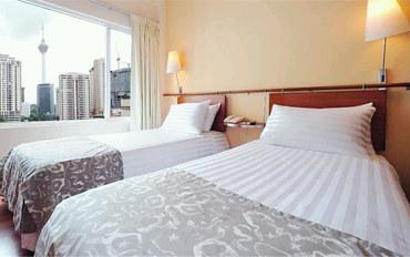 马来西亚酒店公寓住宿:阿尔法创世纪酒店高级双床房