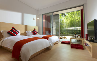 台北酒店公寓住宿:北投俩人旅店温柔客房