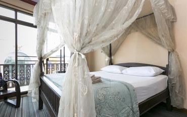 曼谷酒店公寓住宿:马汉那空SK精品酒店高级大床房