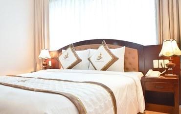 岘港酒店公寓住宿:岘港海城堡二号酒店高级大床房