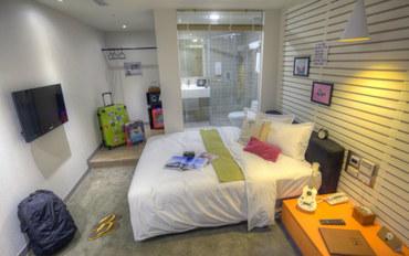 台北酒店公寓住宿:二十轮旅店高级大床房