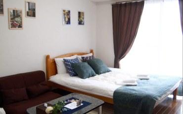 福冈酒店公寓住宿:福冈博多高级公寓十二号馆单卧公寓