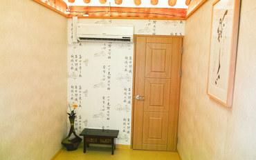 首尔酒店公寓住宿:宫旅馆大床房