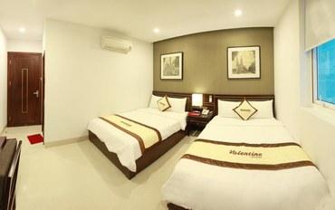 岘港酒店公寓住宿:瓦伦丁酒店家庭房