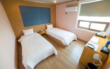 济州岛酒店公寓住宿:济州岛STAY酒店标准双床房