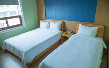 济州岛酒店公寓住宿:济州岛STAY酒店2人豪华双床房