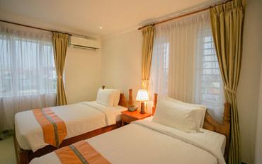 暹粒酒店公寓住宿:暹粒纳戈拉精品酒店高级双床房
