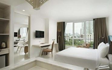 曼谷酒店公寓住宿:乐塔达园景酒店园景套房##