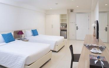 曼谷酒店公寓住宿:勒塔达住宅酒店高级双床房