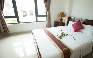 岘港酒店公寓住宿:可丽亚汽车旅馆标准大床房