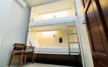 马尼拉酒店公寓住宿:坦巴严酒吧胶囊青年旅馆大床或双床房