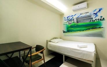 马尼拉酒店公寓住宿:坦巴严酒吧胶囊青年旅馆单人房