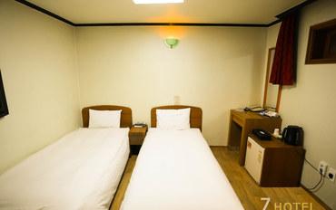 首尔酒店公寓住宿:明洞7号酒店标准双床房