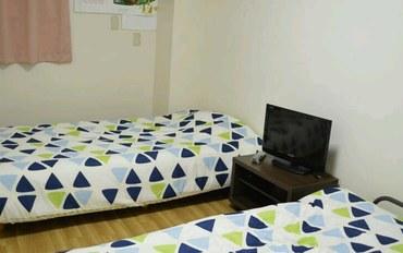 冲绳酒店公寓住宿:女性民宿Fukutomi双床房