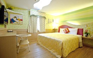 屏东(垦丁)酒店公寓住宿:巴士海峡渡假民宿温馨二人房大床房
