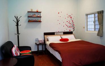 台东酒店公寓住宿:台东心生活民宿温馨雅致大床房