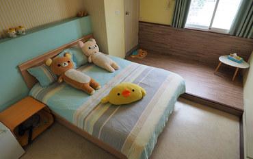 台南酒店公寓住宿:彼得兔温馨小窝标准大床房