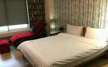 新竹酒店公寓住宿:新竹卡乐家民宿卡乐大床房