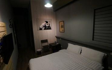 新竹酒店公寓住宿:新竹卡乐家民宿乐活大床房