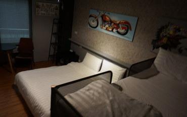 新竹酒店公寓住宿:新竹卡乐家民宿四人家庭房