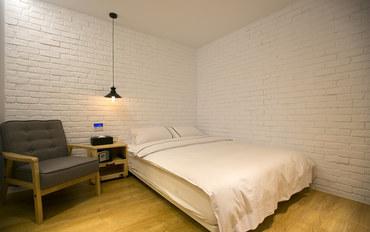 台北酒店公寓住宿:台北约克设计旅店北欧温馨2人房