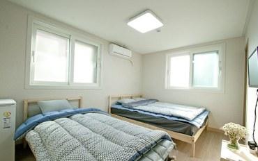 首尔酒店公寓住宿:双兔住宿加早餐旅馆豪华双床房