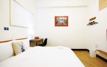 台南酒店公寓住宿:欧嬉客栈精致双人房大床房