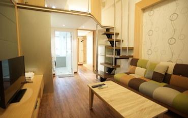 台北酒店公寓住宿:DB屋民宿(台北三馆)豪华双人大床房