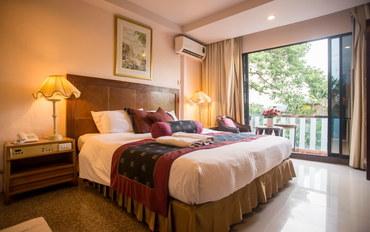 曼谷酒店公寓住宿:钻石城酒店高级双人或双床间##