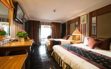 曼谷酒店公寓住宿:钻石城酒店超豪华双人或双床间##