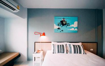 普吉岛酒店公寓住宿:查龙海风酒店标准大床房
