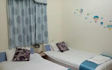 金门酒店公寓住宿:金门豪鹏游民宿2张单人床双床房