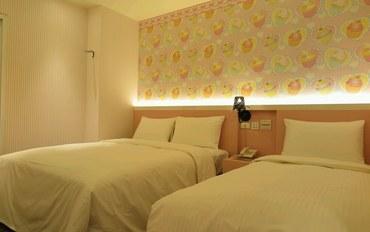 桃园酒店公寓住宿:E91旅店 桃园馆亲子无窗三人房