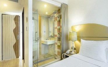 曼谷酒店公寓住宿:乐塔达园景酒店高级双人或双床间##