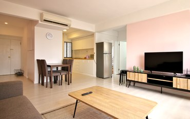 新加坡酒店公寓住宿:市中心乌节路2房高楼公寓