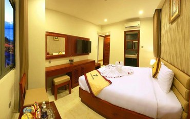 岘港酒店公寓住宿:岘港Vy船酒店商务大床房