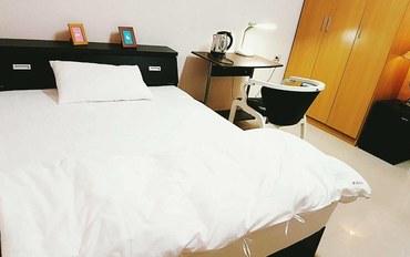 嘉义酒店公寓住宿:乐活桃城民宿幸福双人