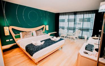 普吉岛酒店公寓住宿:科诺海精品酒店高级大床房